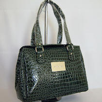 New Gorgeous Green Croc Handbag Bag Purse(a107) Photo