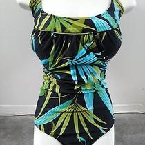 New Gottex Multi Color Swimsuit Sz  16 Photo