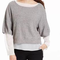 New Grace Elements Gray Women's Size Small S Crewneck Sweater 79- Photo