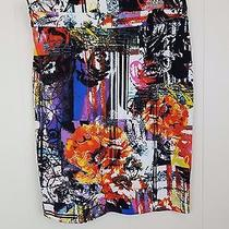New Grace Elements Printed Pencil Skirt M Photo