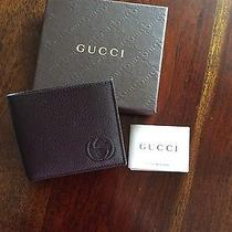 New Gucci Bifold Men's Wallet Photo