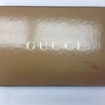 New Gucci Canvas Continental Wallet in Original Box  Photo