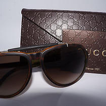 New Gucci Gg 1029/s 791havana Unisex Authentic Gucci Sunglasses 58-15-140 Photo