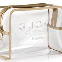 Newgucci Premiere Clear Cosmetic Bag