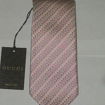New Gucci Silk Tie With Gift Box Photo
