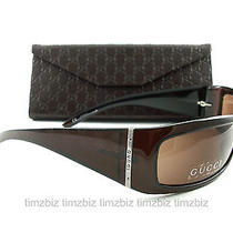 New Gucci Sunglasses Gg 1564/s Cocoa Brown Rgf8u Authentic Photo