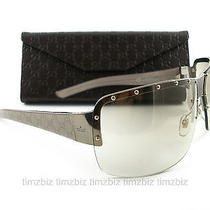New Gucci Sunglasses Gg 1819/s Gold Grey Ems2d Authentic Photo