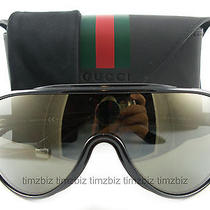 New Gucci Sunglasses Gg 3514/s Black D28qg Authentic Photo