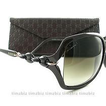 New Gucci Sunglasses Gg 3584/s 3gxcc Cocoa Brown Gradient Authentic Photo