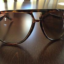 New Gucci Sunglasses Tortoise / Brown Aviator Gc1622s Unisex Photo