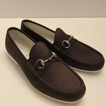 New Gucci Sunrise/cocoa Loafer Shoes Size Us 9.5 / Uk 8.5 D-67240 Photo