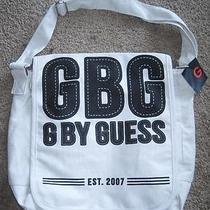 New Guess Gbg Canvas Bike Bag Shoulder Pack Messenger Photo