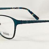 New Guess Gu 2502 088 Women's Eyeglasses Frames 52-16-135 Photo