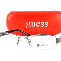 New Guess Gu 9060 Gun 47 Gunmetal Eyeglasses Photo