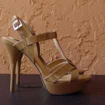 New Guess Shoes High Heels Pumps Chaussures Sandals Sz 7 1/2 7.5 37.5 38.5 uk5.5 Photo