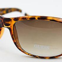 New Guess Sunglasses Women's Gu6395 Authentic Tortoise Ladies Comfort         Photo