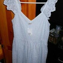 New h&m Dress W/tags. Light Baby Blue Photo