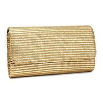 New h&m Gold Straw Clutch Trendy Bag  Purse Photo