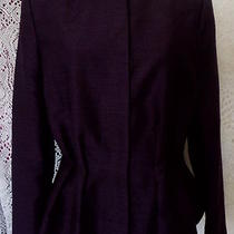 newh&msz.10 Minimalistic Purple Classic Staple  Blazer Photo