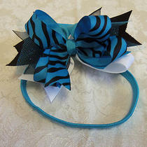 New Handmade  Bow Metal Barrette 5 1/2