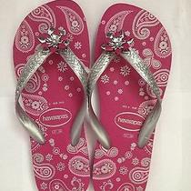 New Havaianas Flip Flops Sandals Slippers Size 37 - 38 (Womens Size 7 - 8) Photo