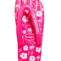 New Havaianas Fluro Palms Lilo Games Water Sea Pink Photo