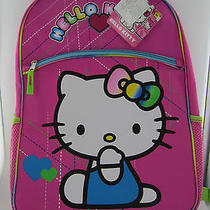 New Hello Kitty Backpack - Pink  Photo