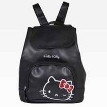 New Hello Kitty Mini Backpack Tartan Photo
