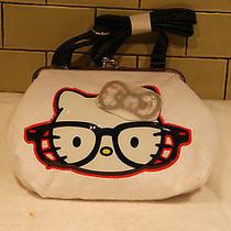 New Hello Kitty Nerds Purse Adjustable Strap White Super Cute Photo