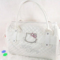 New Hello Kitty Shopping Bag Handbag Tote Purse White Photo