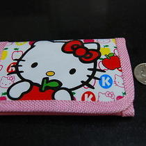 New Hello Kitty Tri-Fold Wallet Gift. Free Shipping Photo