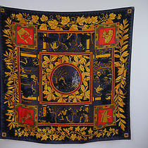 New Hermes Musique Des Dieux Print 100% Silk Twill Scarf With Box Ultra Rare Photo