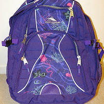 New High Sierra Backpack Laptop Sleeve  Photo