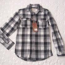 New Hudson & Barrow Men Small S Casual Button Front Shirt Long Sleeve Plaid Photo