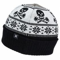 New Hurley Adults Donner Cap Hat Knit Scull Beanie  Photo