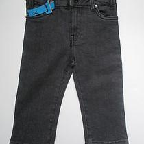 New Hurley Baby Boy Gray Adjustable Waist Jeans 18 Months  Photo