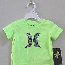 New Hurley Baby Boy Infant Toddler Short Sleeve T Shirt Tee Size 12 Months Photo