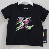 New Hurley Baby Infant Toddler Short Sleeve T Shirt Tee 18 Months Photo