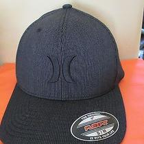 New Hurley Ball Cap Hat Mens L Xl Black Resist Crosby Photo