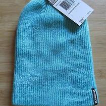 New Hurley Beanie Cap Hat Mens Osfa S M L Shipshape Blue Photo