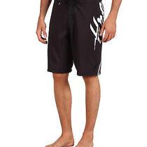 New Hurley Bolt Boardshorts Shorts Mens 29 Swimsuit Black Photo