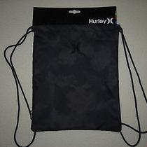New Hurley Honor Roll Sack Book Bag Travel Backpack Rucksack  Photo