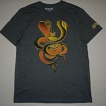 New Hurley Mens Cobra Premium Fit Tee Shirt Tshirt Large Photo