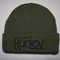 New Hurley Mens Original Knit Acrylic Beanie Hat Cap Osfa  Photo