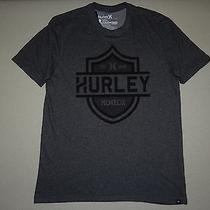 New Hurley Mens Pyrate Nike Drifit Premium Fit Tee Shirt Tshirt Large Photo