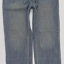New Hurley Straight Grunge Blue Jeans Mens Sz 38 X 32 Cotton Zip Fly Photo