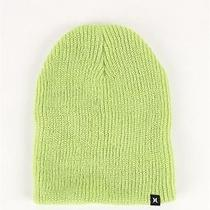 New Hurley Toddler Lime Green Beenie Size 4t Photo