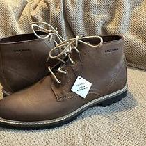 New in Box - 250 Cole Haan Nathan Light Roast Leather Chukka Boot Size 9.5 Photo