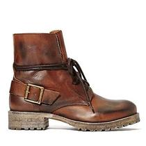 New in Box 38 / 7.5 Jeffrey Campbell 1953 Boot Brown Leather Combat Nasty Gal  Photo