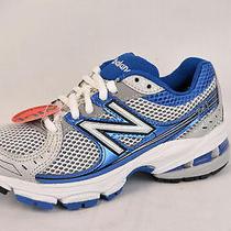 New in Box 52 New Balance Kj416bsy Boy's Silver/blue Athletic Sneaker us12.5 W Photo